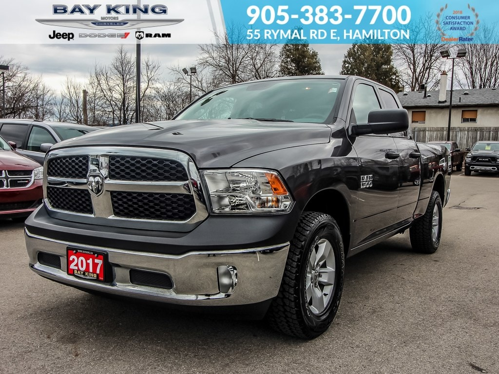 2017 Ram 1500 Bluetooth, Keyless Entry, FOG Lamps, V6 Truck Quad Cab