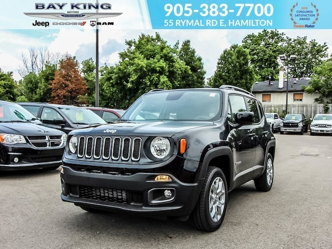 2018 Jeep Renegade North 4X4, Backup CAM, Remote Start, Bluetooth SUV
