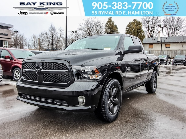 2019 Ram 1500 Classic Express Night, Bluetooth, Back UP CAM, 20 Wheels Truck Quad Cab