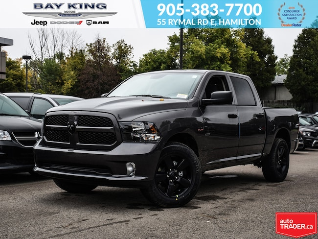 2019 Ram 1500 Classic Express Blackout, Backup CAM, Bluetooth, 20 Wheel Truck Crew Cab