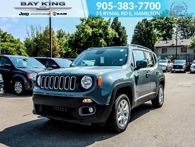 2018 Jeep Renegade 4X4, Backup CAM, Remote Start, Bluetooth SUV