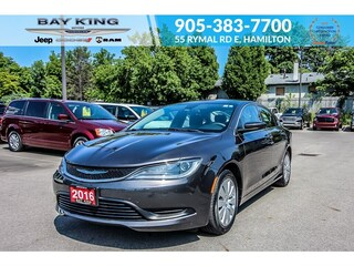2016 Chrysler 200 ONE Owner, A/C, Keyless Entry Sedan