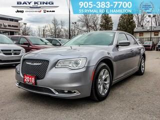 2018 Chrysler 300 Heated Seats, Back UP CAM, NAV, Bluetooth Sedan