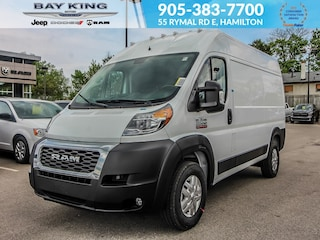 2019 Ram ProMaster 2500 136 WB, Bluetooth, Brake Assist Van Cargo Van