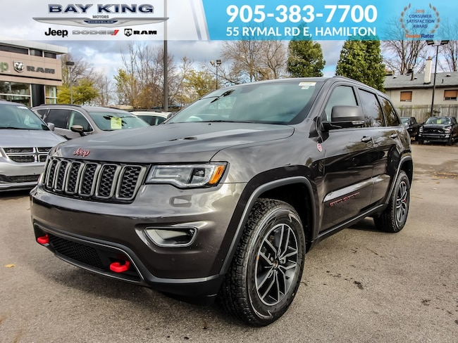 2019 Jeep Grand Cherokee Trailhawk 4X4, Back UP CAM, Blind Spot Monitor, GP SUV