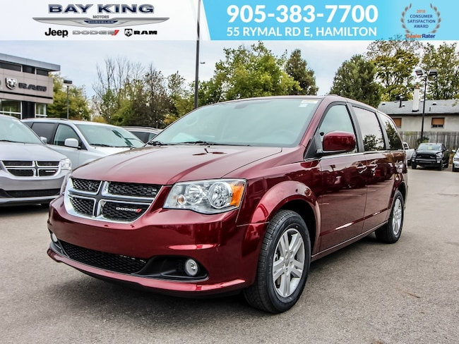 2019 Dodge Grand Caravan Crew Plus, Back UP CAM, Power Liftgate, GPS NAV Van