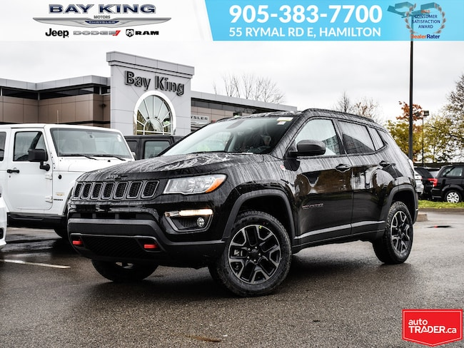 2019 Jeep Compass Trailhawk 4X4, GPS, Back UP CAM, Bluetooth SUV