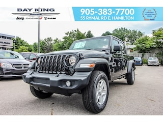 2020 Jeep Gladiator Sport S 4x4, Tonneau Cover, Remote Start, Back UP Truck Crew Cab