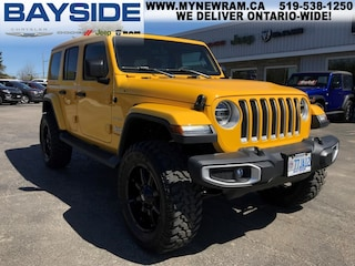 2019 Jeep Wrangler Unlimited Sahara | 2 INCH LIFT | SKYROOF SUV