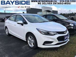 2018 Chevrolet Cruze LT Auto | FWD | BLUETOOTH Sedan