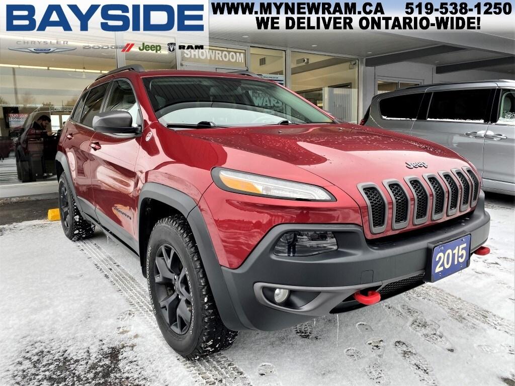 2015 Jeep Cherokee Trailhawk | 4x4 | NAV SUV