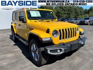 2021 Jeep Wrangler Unlimited Sahara | 4x4 | NAV SUV