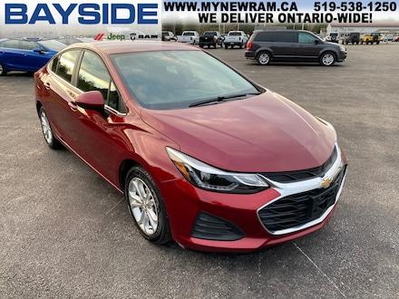 2019 Chevrolet Cruze LT | FWD | BLUETOOTH Sedan