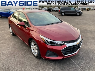 2019 Chevrolet Cruze LT | FWD | BLUETOOTH Sedan
