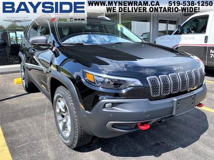 2020 Jeep Cherokee Trailhawk Elite   4x4   NAV SUV
