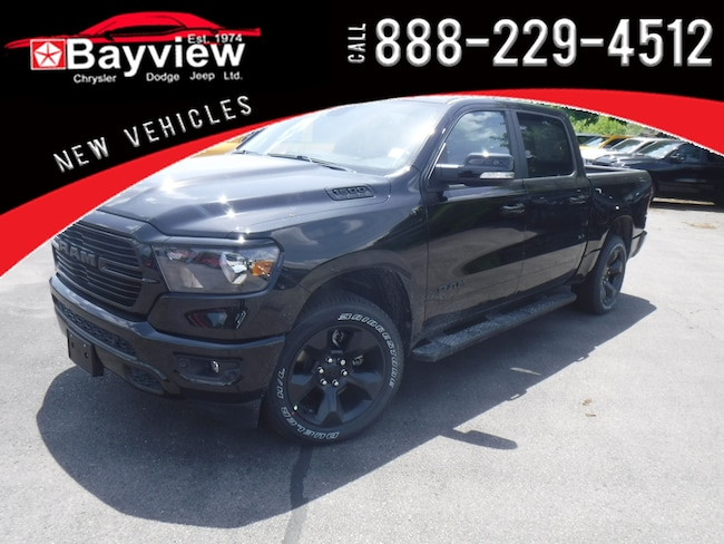 2019 Ram 1500 Black Package Truck Crew Cab
