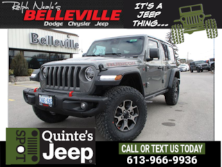 2019 Jeep Wrangler Unlimited Rubicon-GPS-Steel Bumper Group SUV