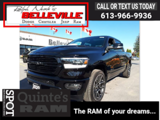 2020 Ram 1500 Advanced safety group-GPS-sunroof Truck Crew Cab