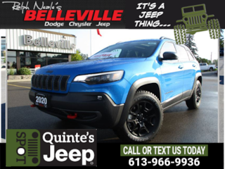 2020 Jeep Cherokee Trailhawk - Tow Group - Blind Spot SUV