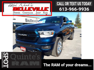 2020 Ram 1500 BIG HORN-GPS-SPORT APPEARANCE PACKAGE Truck Quad Cab