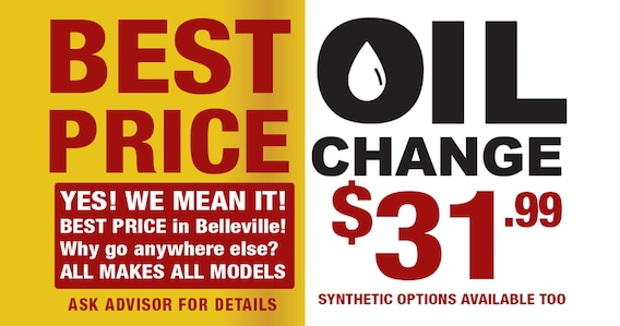 Oil Change Prices Near Me >> Best Price Oil Changes At Ralph Neale S Belleville Dodge