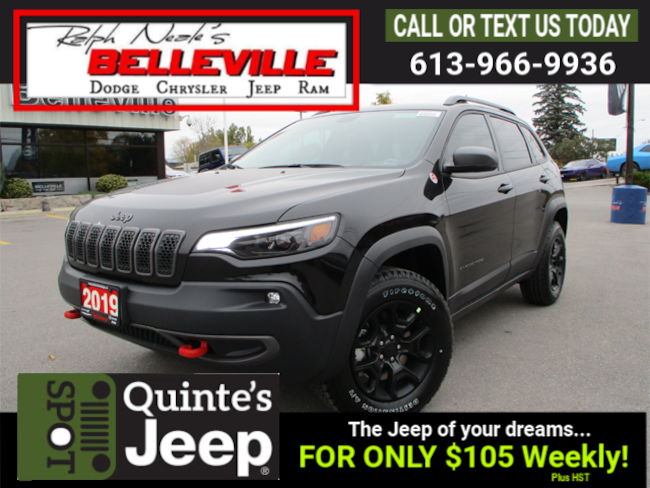 2019 Jeep New Cherokee Trailhawk Elite 4X4, Trailer Tow Group SUV