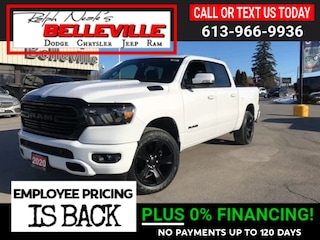 2020 Ram 1500 All new Night Edition Big Horn Truck Crew Cab