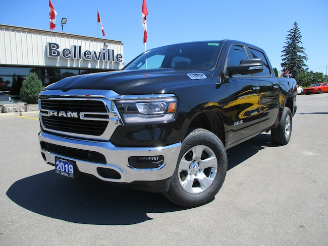 2019 Ram All-New 1500 Navigation-4 corner air suspension-brake controlle Truck Crew Cab