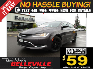 2015 Chrysler 200 Limited-Remote Start-Back UP Camera Sedan