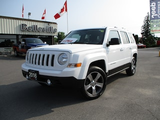 2016 Jeep Patriot North 4x4 With Extended Warranty SUV