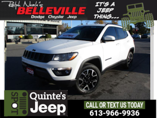2020 Jeep Compass 4x4-heated seats and steering wheel SUV