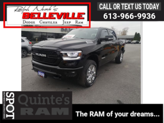 2020 Ram 1500 Big Horn North Edition-Off Road group-GPS Truck Crew Cab