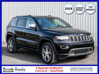 2019 Jeep Grand Cherokee Limited==TOIT==AUCUN CARFAX VUS
