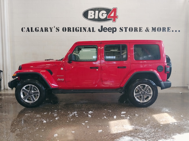 New 2019 Jeep Wrangler Unlimited Sahara 4x4 For Sale In