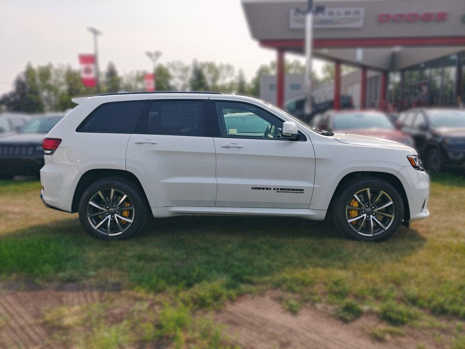 New 2018 Jeep Grand Cherokee Trackhawk SUV Calgary, AB