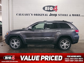 Used 2019 Jeep Grand Cherokee Limited 4WD 4x4 Calgary, AB