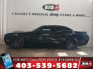 Used 2015 Dodge Challenger SRT Hellcat Coupe 2C3CDZC95FH743861 Calgary, AB