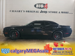 Used 2015 Dodge Challenger SRT Hellcat Coupe 2C3CDZC95FH743861 Calgary, AB