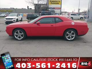 Used 2009 Dodge Challenger R/T | Hemi V8 | Remote Start Coupé 2B3LJ54T59H580111 Calgary, AB