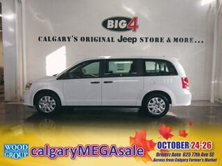 Used 2019 Dodge Grand Caravan Canada Value Pkg   Hands Free   SAT Van 2C4RDGBG9KR633801 Calgary, AB