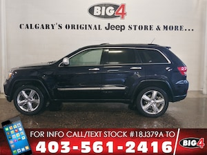 2011 Jeep Grand Cherokee Overland | V8 | Pano Roof | Tow pkg SUV