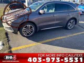 Used 2017 Acura MDX Navigation Package SUV Calgary, AB