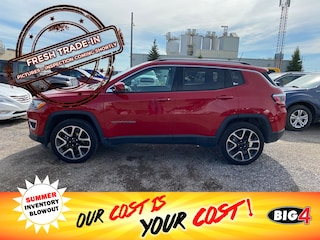 Used 2019 Jeep Compass Limited SUV Calgary, AB