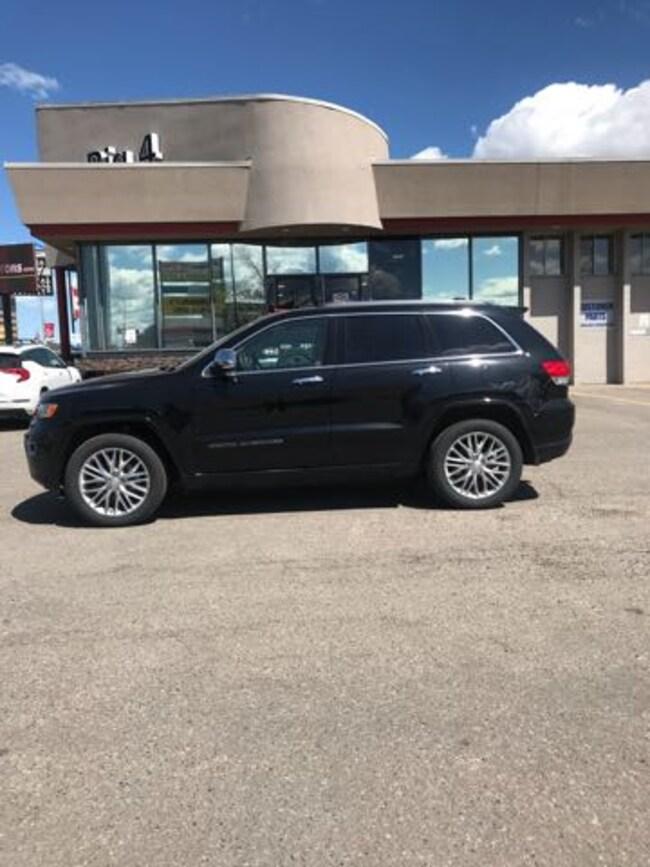 2018 Jeep Grand Cherokee Overland SUV