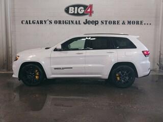 New 2018 Jeep Grand Cherokee Trackhawk SUV 1C4RJFN90JC349111 Calgary, AB