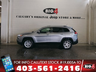 Used 2015 Jeep Cherokee North | V6 | Pano Roof | Heated Steering Wheel SUV 1C4PJMCS0FW739469 Calgary, AB