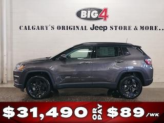 New 2019 Jeep Compass North 4x4 SUV 3C4NJDBB5KT817401 Calgary, AB