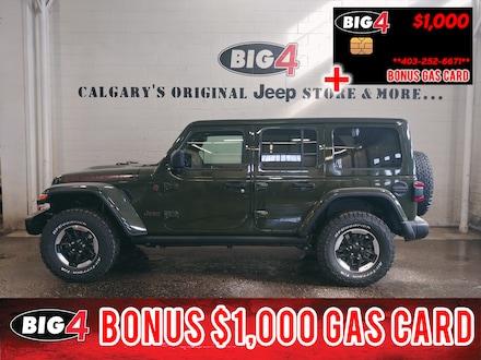 New 2021 Jeep Wrangler Unlimited Rubicon 4x4 Calgary, AB