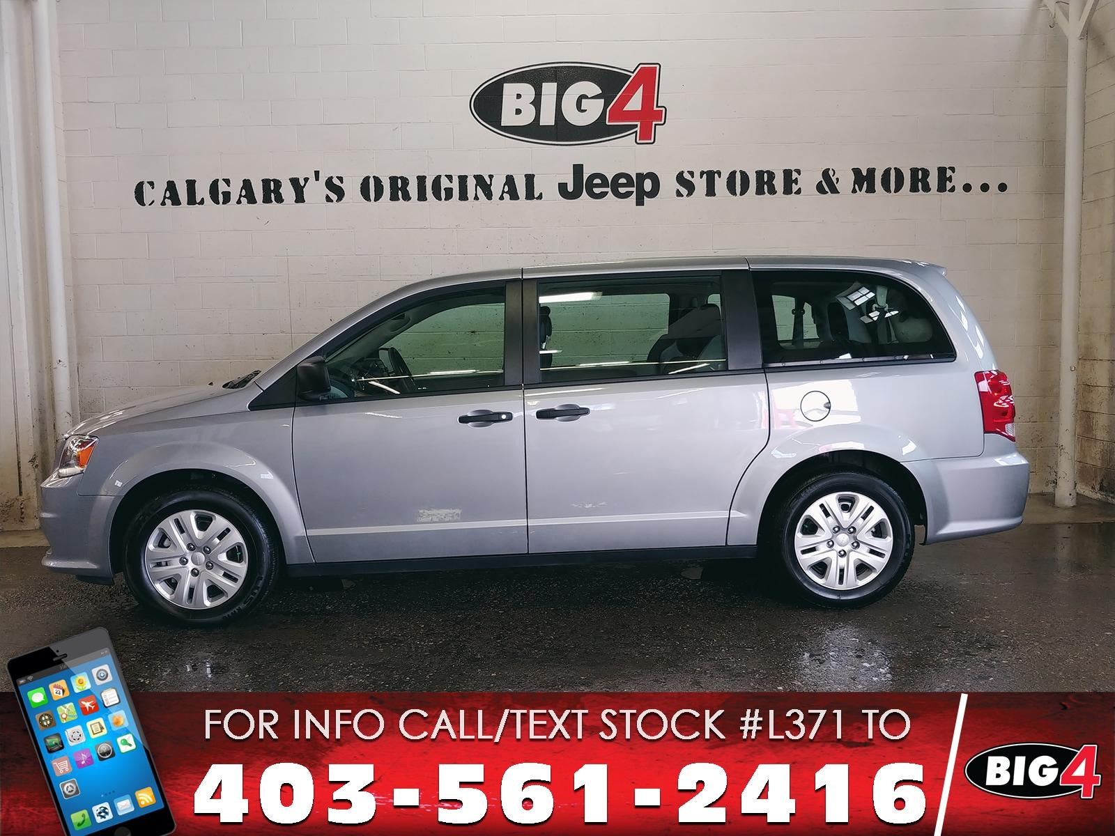 Used 2018 Dodge Grand Caravan CVP/SXT Van Calgary, AB