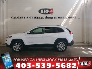 Used 2016 Jeep Cherokee Limited | Leather | V6 |NAV | Tow Pkg SUV 1C4PJMDSXGW225094 Calgary, AB